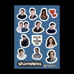Набор стикеров Shameless