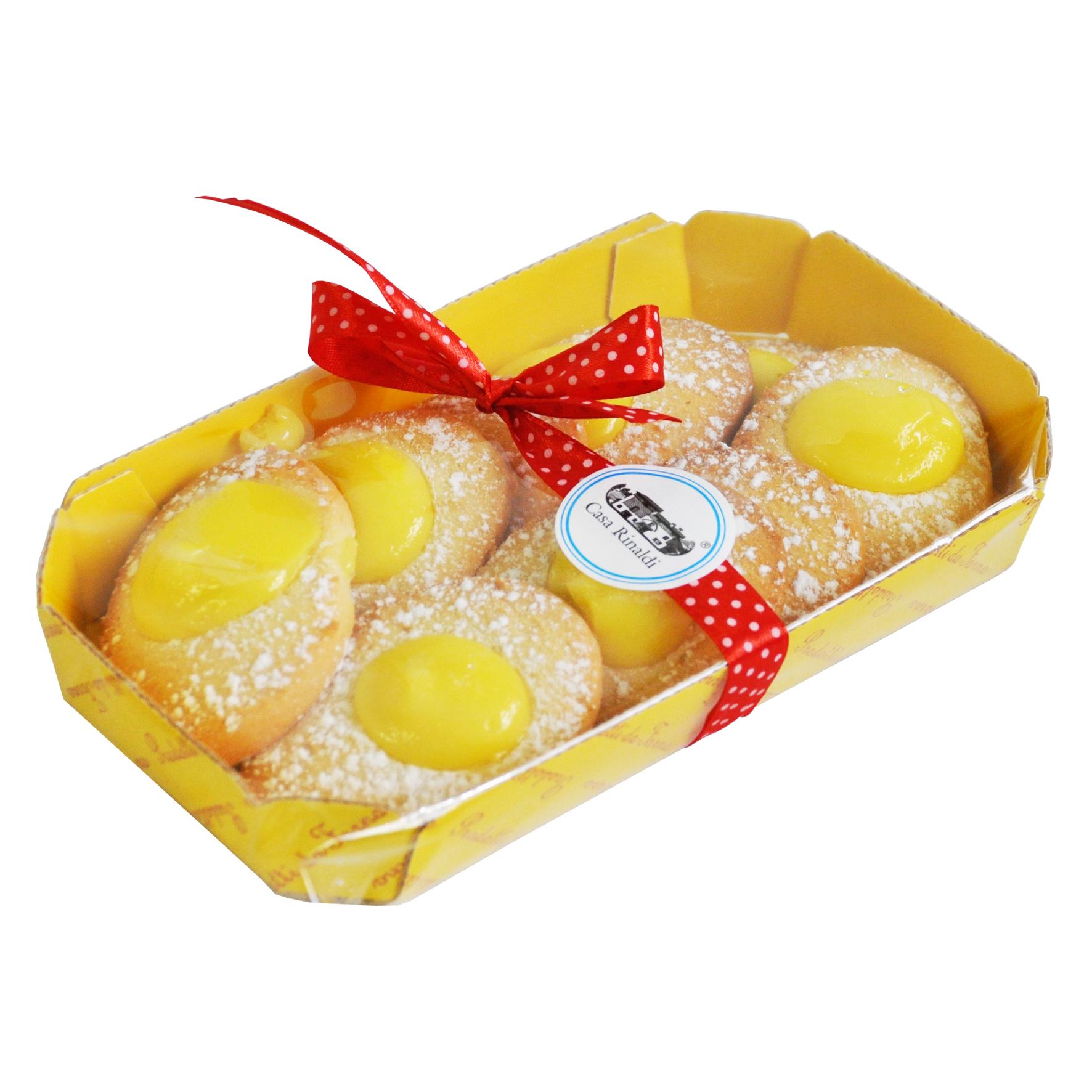 Печенье Casa Rinaldi Лимони с лимонным кремом