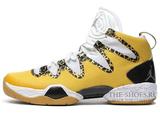 Кроссовки Mужские Nike Jordan 28 SE White Gold