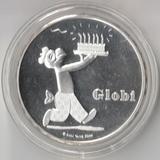 2012 P2963 Швейцария 20 франков Глоби, Ag-835, 20 гр.