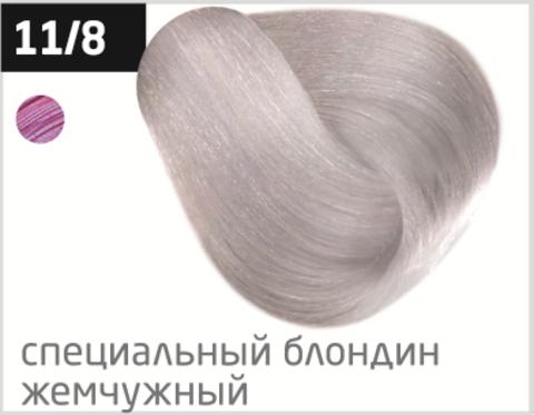OLLIN performance 11/8 специальный блондин жемчужный 60мл перманентная крем-краска для волос
