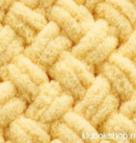 Пряжа Puffy (Alize) 509 желтый, фото