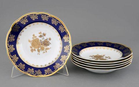 Набор тарелок глубоких 23 см 6 штук Мэри-Энн Leander