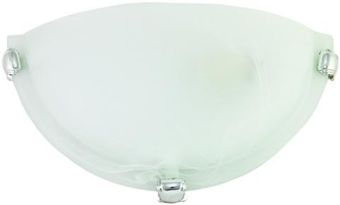 Светильник декоративный СД 1*60 Вт E27 полукруг белый (в разборе)TDM