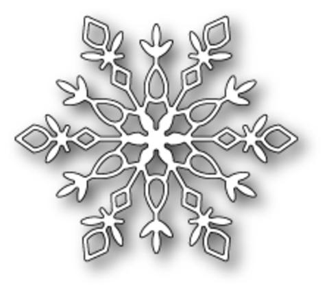 Ножи для вырубки Demi Snowflake craft die