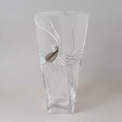Ваза декоративная 30 см кристалл 6246/PLK