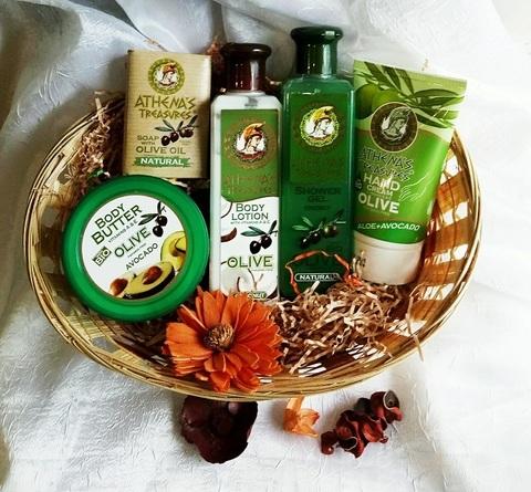 Набор оливковой косметики из Греции Авокадо 2
