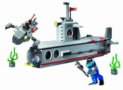 Конструктор Зона боевых действий Подводная лодка