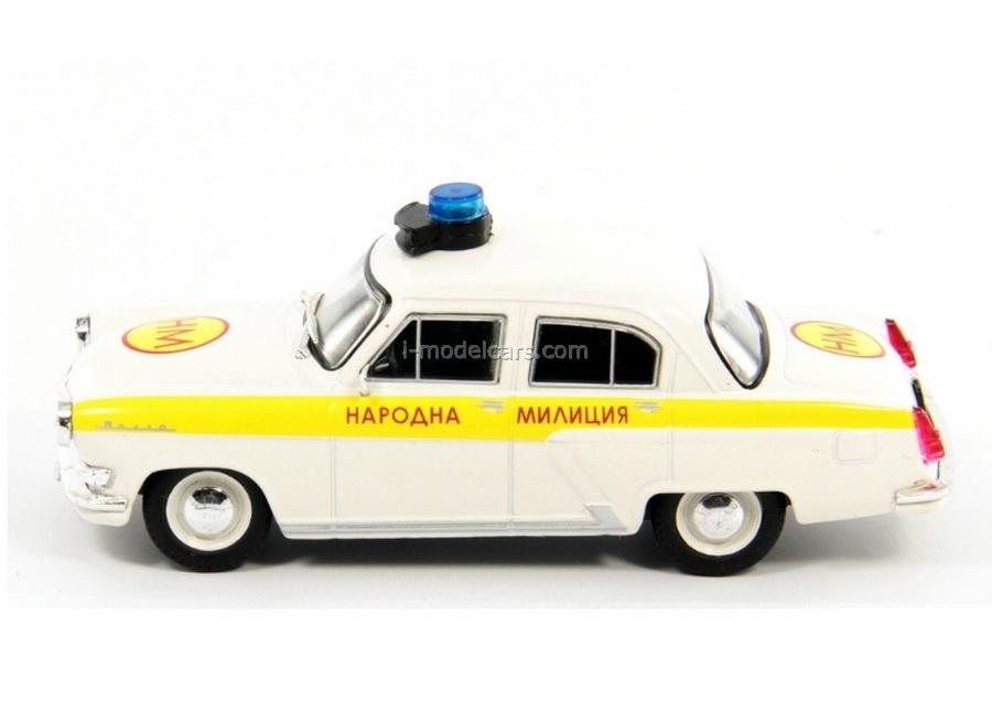 GAZ-21 Volga Bulgaria People's Militia 1:43 DeAgostini World's Police Car #37