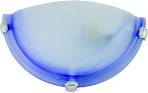 Светильник декоративный СД 1*60 Вт E27 полукруг голубой (в разборе) TDM