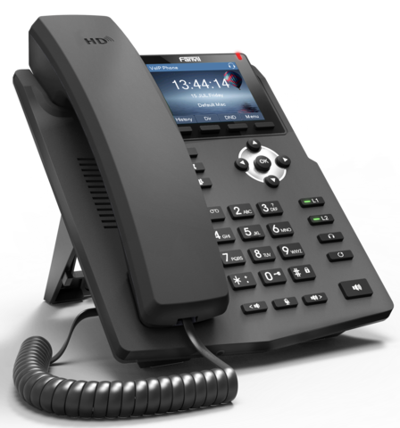 Fanvil X3G - Business SIP Phone (POE) - IP телефон, 2 SIP линии, (1GbE) Gigabit Ethernet, цветной LCD