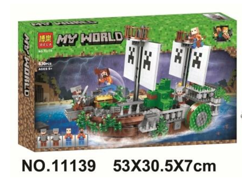 Конструктор BELA (Lari) My World 11139 Битва на реке