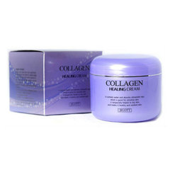 Jigott Collagen Healing Cream - Крем питательный с коллагеном