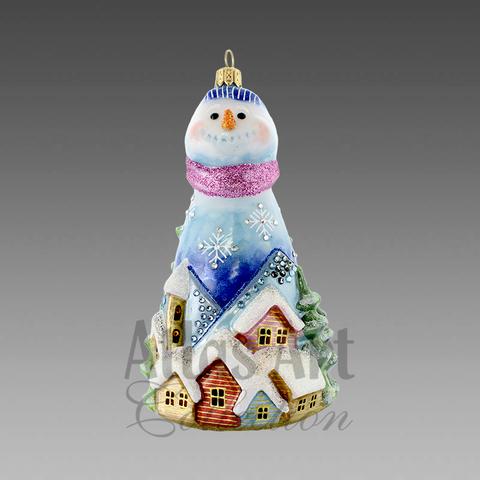 Снеговик Зимний городок