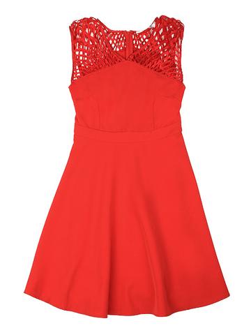 GDR011815 Платье женское, красное
