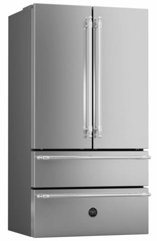 Холодильник French Door Bertazzoni REF90X, ручки Heritage
