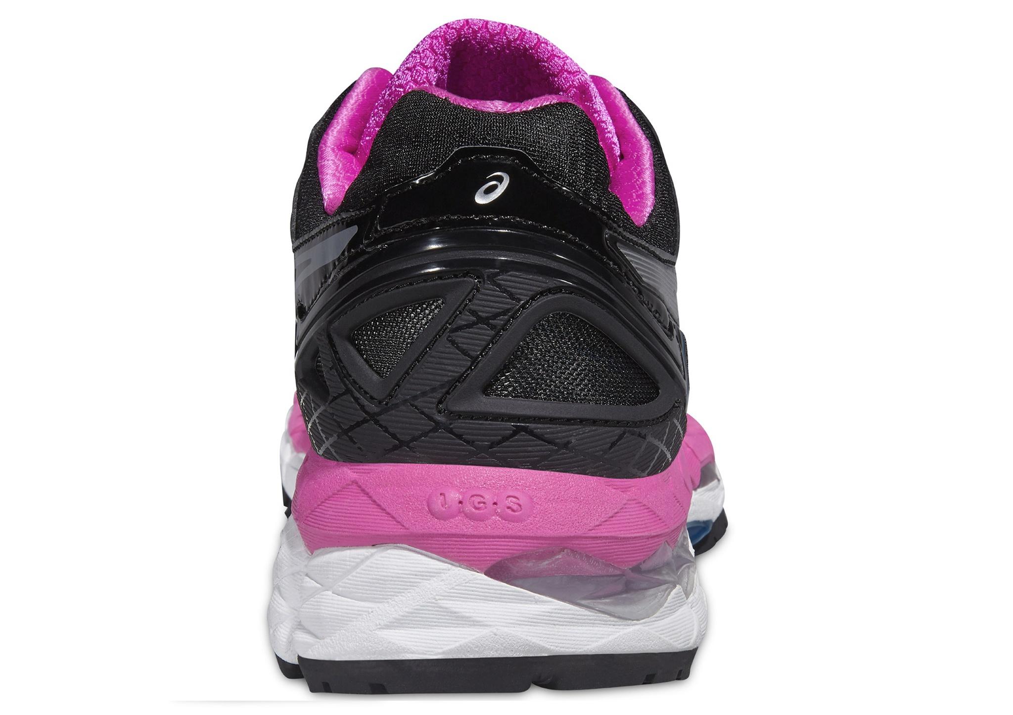 Женские кроссовки для бега Asics Gel-Kayano 22 (T597N 9093) черные фото