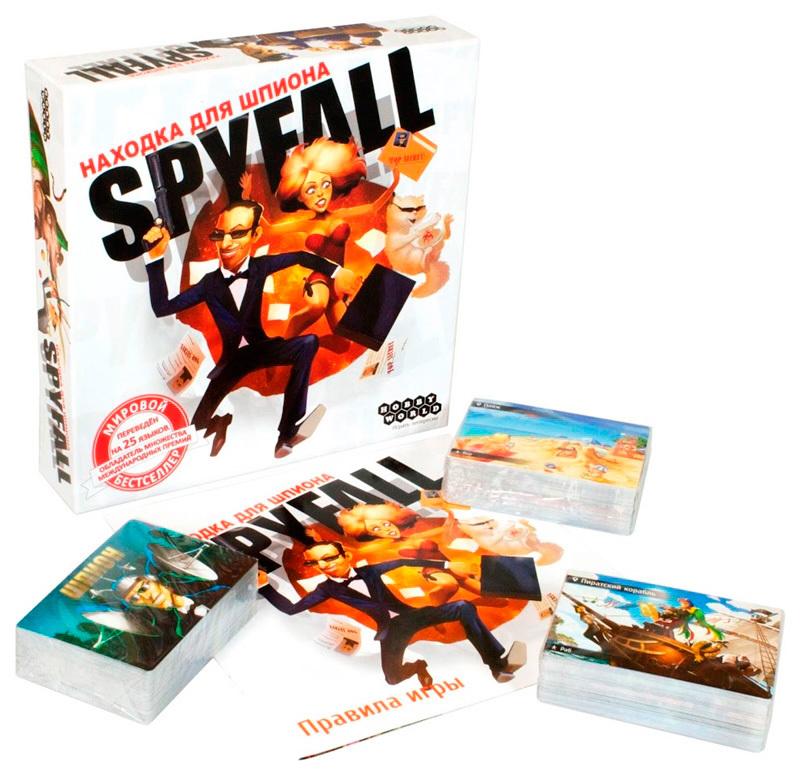 Настольная игра Находка для шпиона / Spyfall (2-е рус. изд.)
