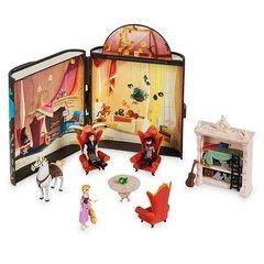 Набор фигурок с хранилищем в форме Дневника - Приключения Рапунцель, Disney