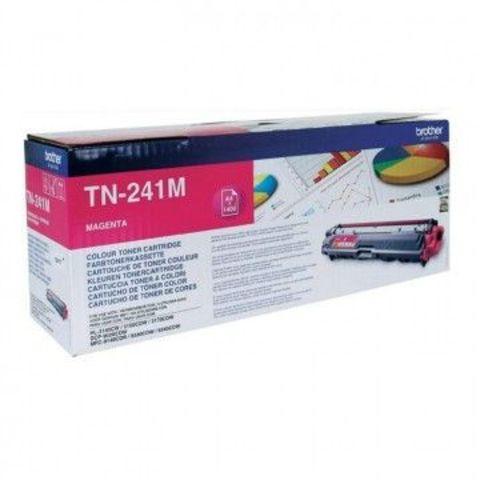 Тонер-картридж TN-241M magenta для Brother HL-3140CW, 3150CDW, 3170СDW, DCP-9020CDW, MFC-9140CDN, 9330CDW, 9340CDW (1400 стр)