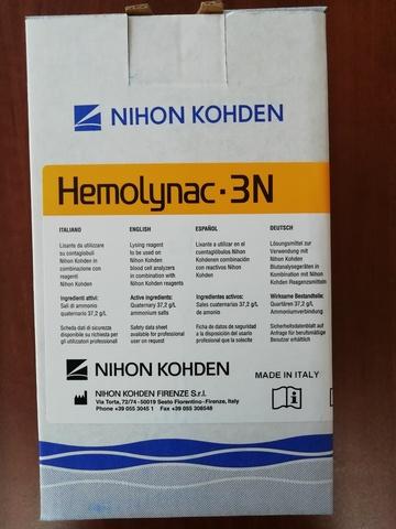 Лизирующий реагент Хемолинак 3N (Hemolynac-3N MEK-680 I), 1 л - Nihon Kohden Firenze S.r.l., Италия (арт.MEK-680I)