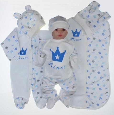 Набор одежды для новорожденного в роддом 7 предметов