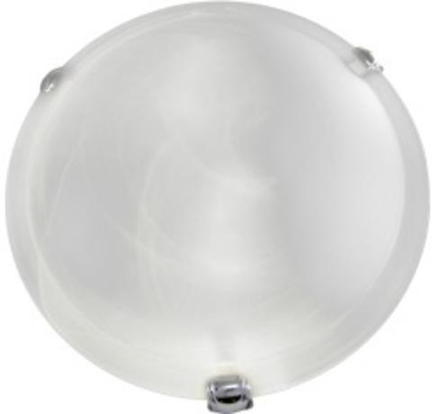 Светильник декоративный СД 2*60 Вт E27 круг белый (в разборе) TDM