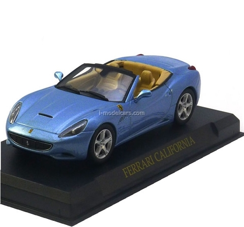 Ferrari California Cabrio blue 1:43 Eaglemoss Ferrari Collection #4