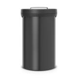 Мусорный бак Big Bin (60 л), Черный матовый, арт. 402029 - превью 1