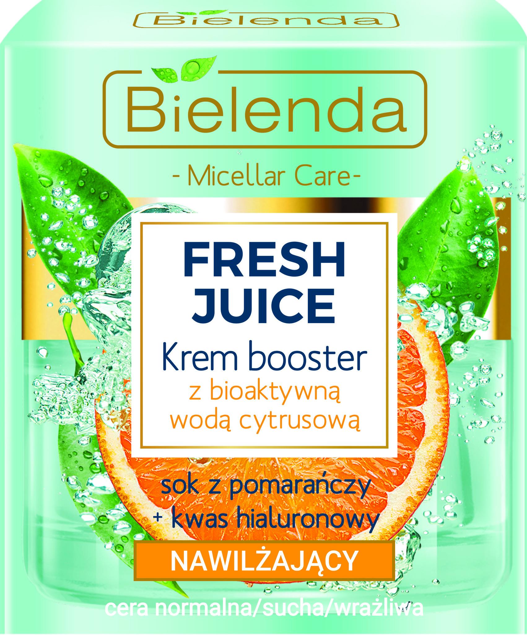 FRESH JUICE Увлажняющий крем с биоактивной цитрусовой водой Апельсин 50мл
