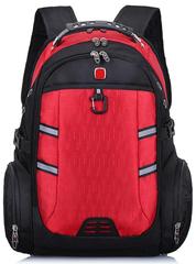 Швейцарский рюкзак 7651 USB Красный