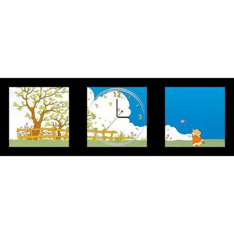 Часы-постер 1*AА батарея (в комплект не входит), NL3 (Feron)