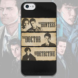 Чехол для iPhone 7+/7/6s+/6s/6+/6/5/5s/5с/4/4s the HUNTERS, the DOCTOR and the DETECTIVE