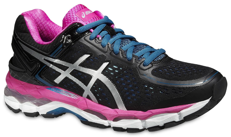 Женские кроссовки для бега Asics Gel-Kayano 22 (T597N 9093) черные