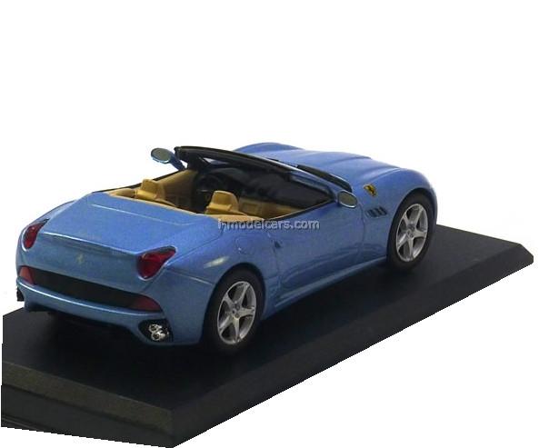 Ferrari California Cabrio blue 1:43 Eaglemoss Ferrari Collection #4