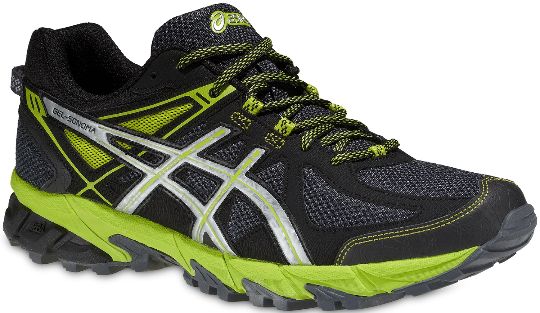 Мужские кроссовки внедорожники Asics Gel Sonoma (T4F2N 7893) черные фото