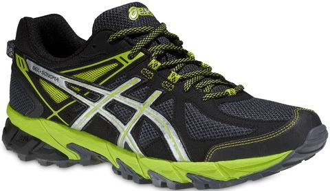 Asics Gel Sonoma Мужские кроссовки внедорожники черные