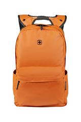 Рюкзак Wenger 14'', с водоотталкивающим покрытием, цвет оранжевый, 28x22x41 см, 18 л