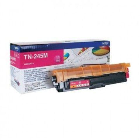 Тонер-картридж TN-245M magenta для Brother HL-3140CW, 3150CDW, 3170СDW, DCP-9020CDW, MFC-9140CDN, 9330CDW, 9340CDW (2200 стр)