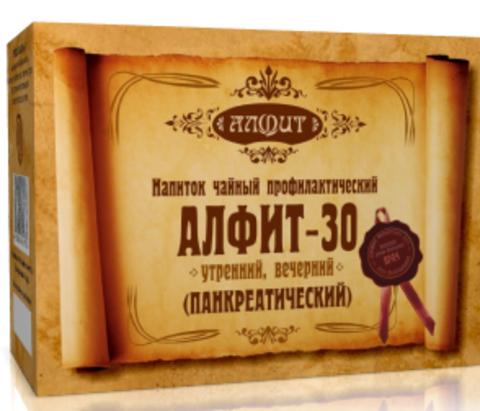 Фитосбор Алфит-30 Панкреатический (при заболеваниях поджелудочной железы), 60 ф/п*2г