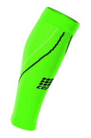 CEP мужские компрессионные гетры ярко-зеленые