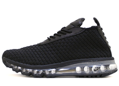 КРОССОВКИ МУЖСКИЕ NIKE AIR MAX WOVEN BOOT BLACK FULL