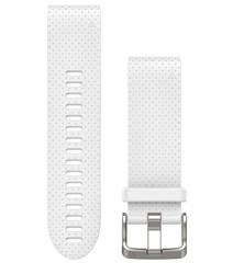 Ремешок силиконовый QuickFit 20 для Garmin Fenix 5S (белый) 010-12491-10