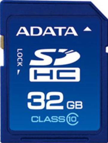 Карта памяти Adata SDHC 32 Gb Class 10