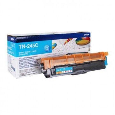 Тонер-картридж TN-245C cyan для Brother HL-3140CW, 3150CDW, 3170СDW, DCP-9020CDW, MFC-9140CDN, 9330CDW, 9340CDW (2200 стр)
