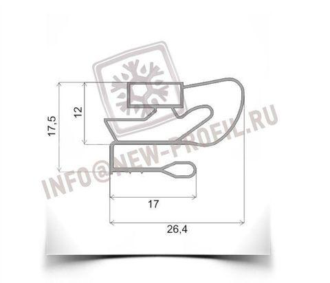 Уплотнитель для холодильника Атлант МХМ-162(морозильная камера)  Размер 69*56 см Профиль 021/012/009