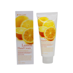 Крем для рук 3W Clinic Lemon Moisture Hand Cream, 100 мл