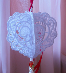 Сердце 3Д с пожеланием (цвета на выбор)
