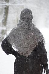 Оренбургский пуховый платок 72 фото 2