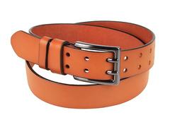 8245-11 ремень кожаный мужской, коричневый